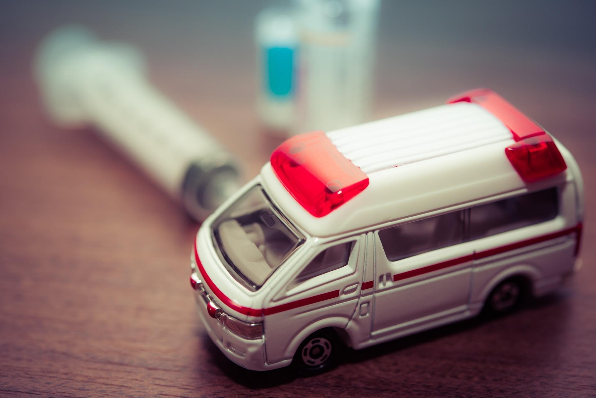 新しい救急車が買えない自治体がでてきた。本当に限界が近い