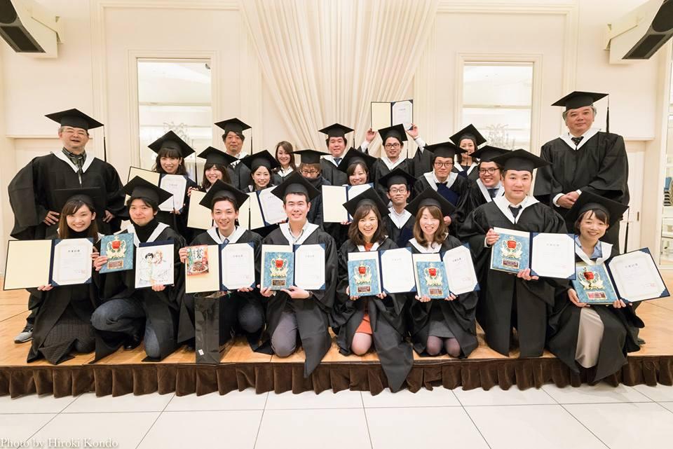 第2期生の卒業写真