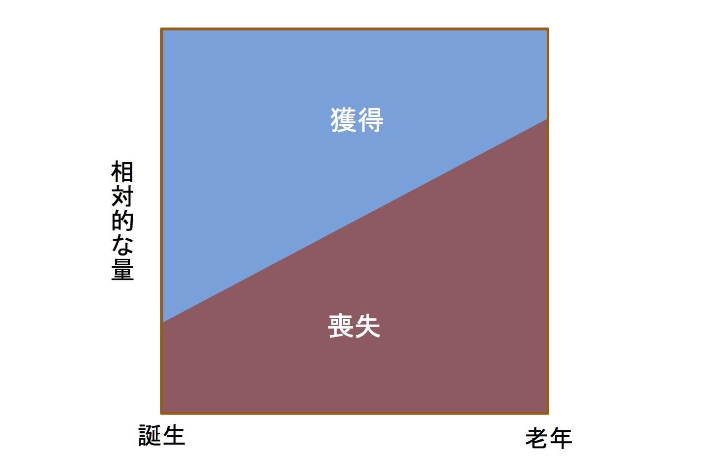 生涯学習の獲得・喪失モデル(gain/loss model)