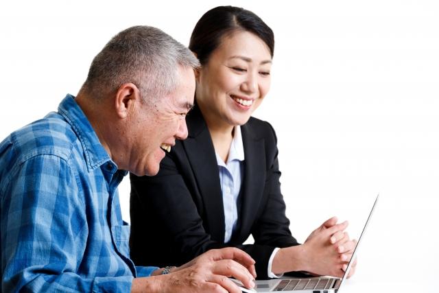 定年退職をする人材に向けた、介護業界の説明会(東京都)